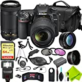 Nikon D7500 DSLR Digital Camera with Nikon 18-140mm Lens and Nikon 70-300mm Lens 2 Lenses Bundle