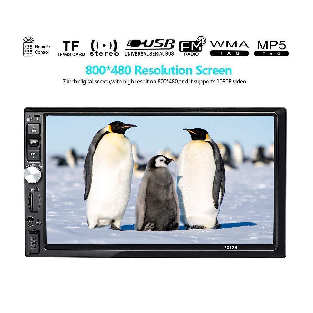 Monitoreo de Estacionamiento C/ámara para Veh/ículo DVR Construida en Sensor G LCD de 4 170 /° de Gran Angular Visi/ón Nocturna C/ámara Dual Frontal y C/ámara Trasera 1080P FHD para Coche de YOOFAN