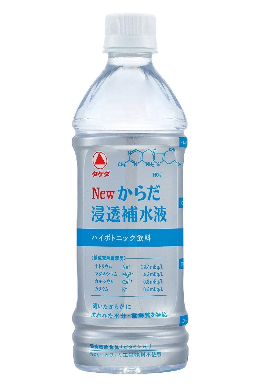 武田薬品工業 Newからだ浸透補水液 500mLx24本