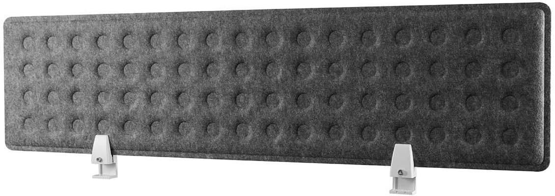 Monoprice Desk Privacy Panel, Gray