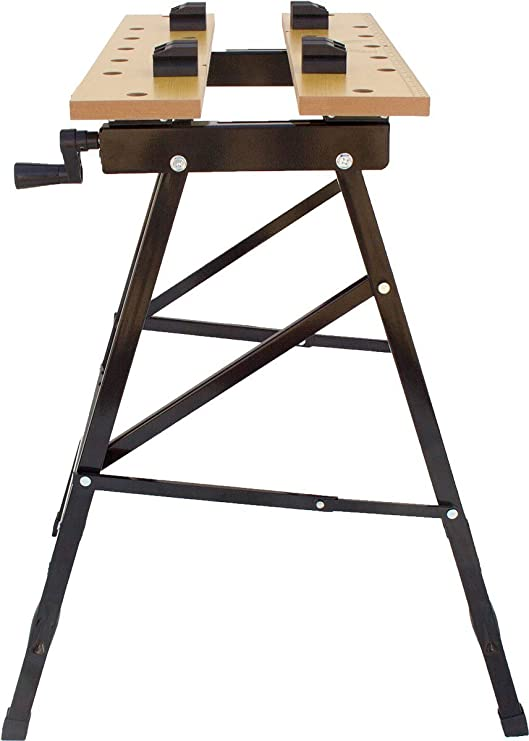 Noir 5x 78 60 5 x 23 5 cm Einhell Etabli de Serrage WB 50