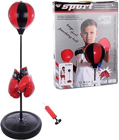 Boxsack Höhenverstellbar Boxbirne Punchingball Boxball Punching Ball Boxsack Set