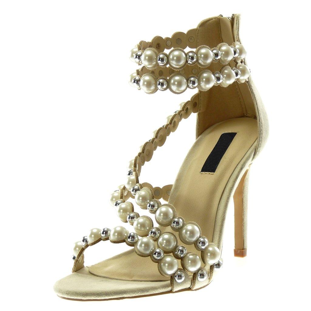 Sandale Chaussure Angkorly Escarpin Stiletto Lanière Cheville Mode lFJcT3K1