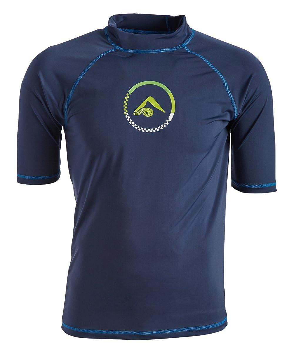 Kanu Surf Mens Standard Haywire UPF 50+ Sun Protective Rashguard Swim Shirt 5479