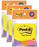 3M Post-it Color Page Marker - Pack of 3