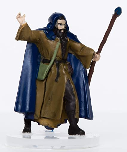 Characters of Adventure - Male Human Wizard - Plastic Miniature for D&D or  Pathfinder