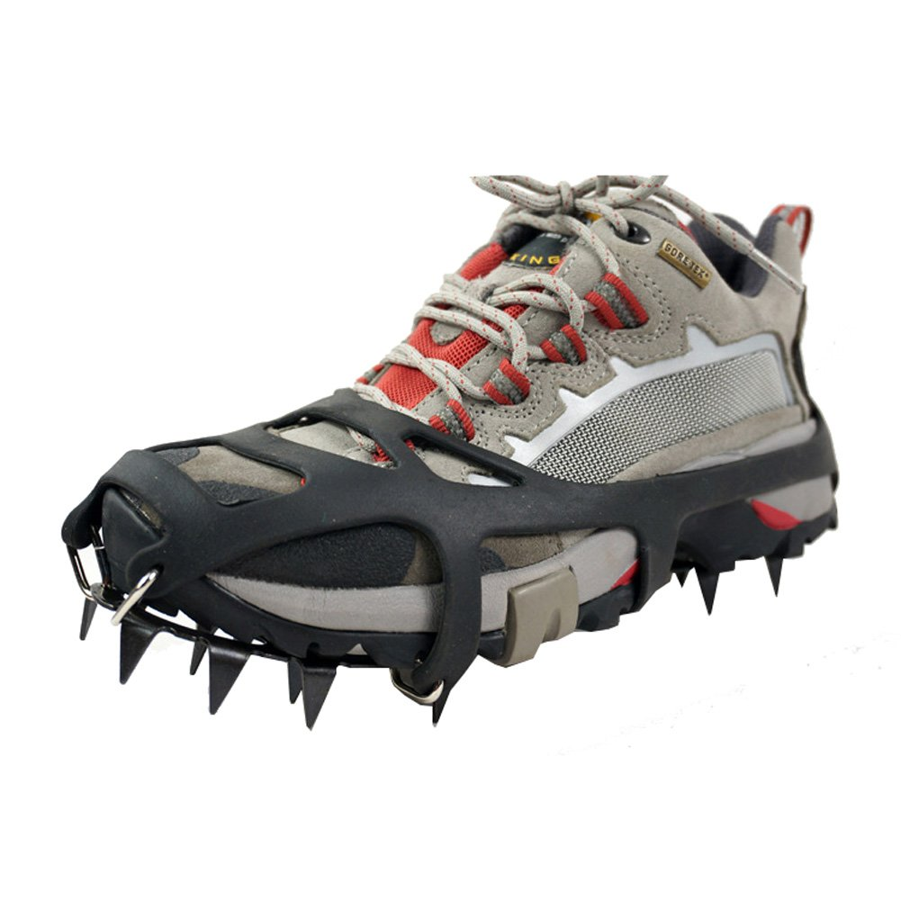 Universal Ice Snow Ground Antiskid Crampons Skating Antiskid Snow Shoe Spikes Grips Cleats Yimidear