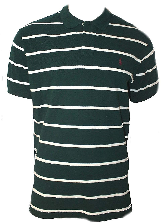Polo_Ralph Lauren F54 - Camiseta de Manga Corta para Hombre Verde ...