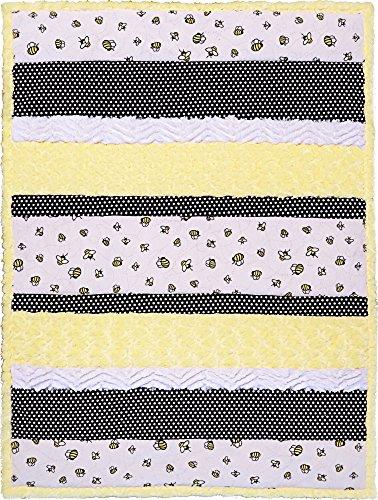 Minky Bambino Bee Happy Cuddle Kit Quilt Kit Shannon Fabrics