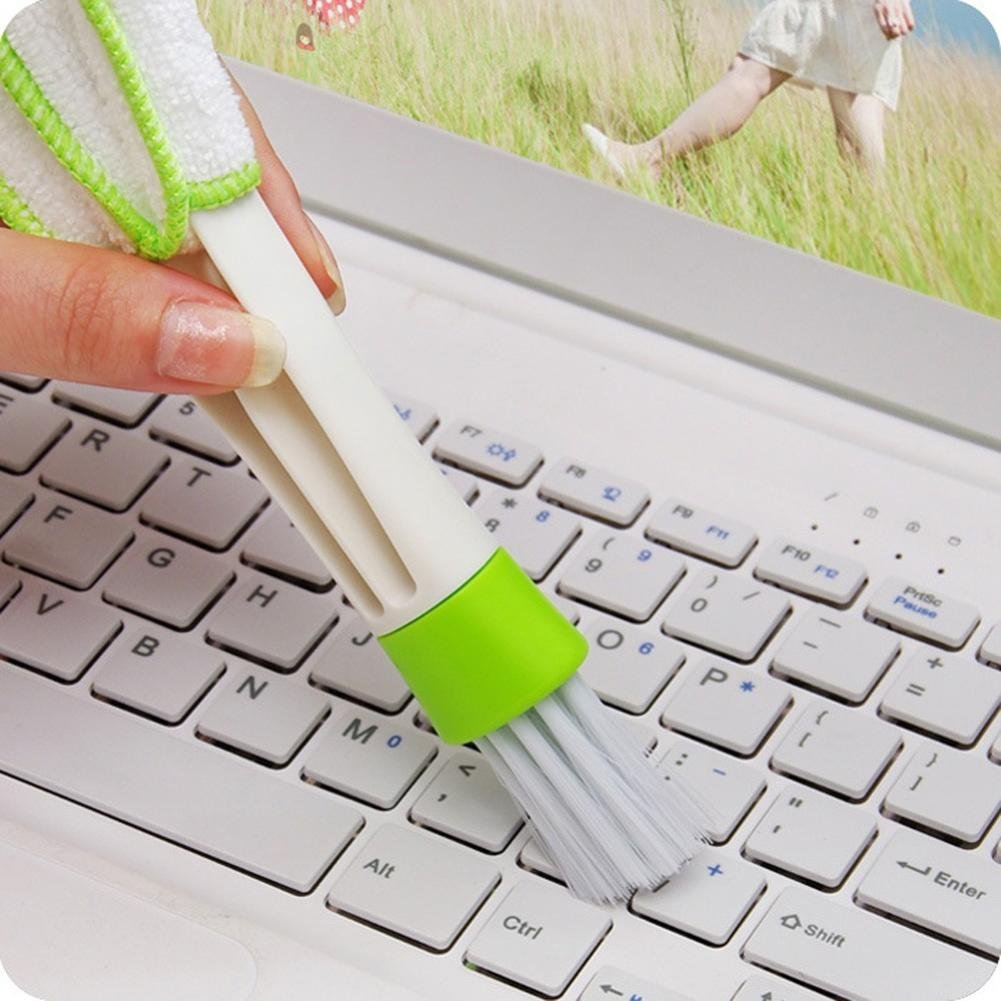 Sujing Air-condition Cleaner Computer Clean Tools Window Leaves Blinds Cleaner Duster Pocket Brush Keyboard Dust Collector by Sujing (Image #3)