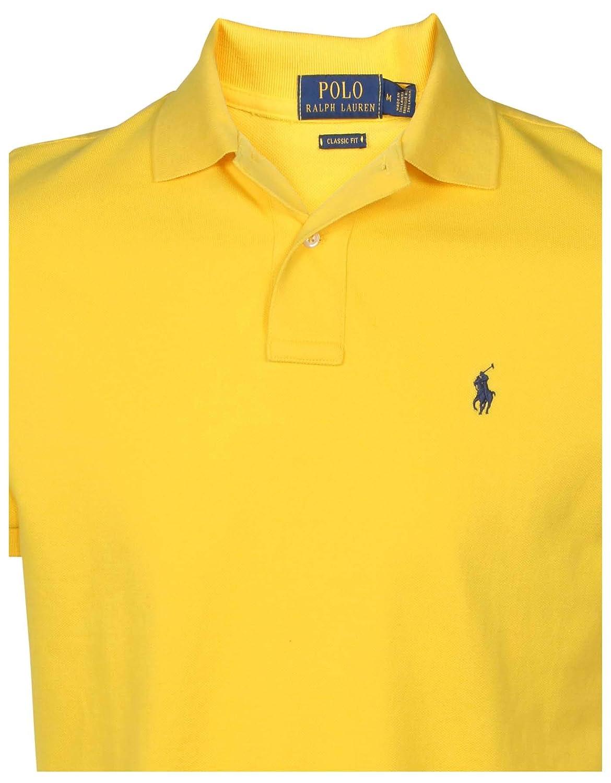 c8245aae Polo Ralph Lauren Men's Classic Fit Mesh Polo Shirt: Amazon.ca ...