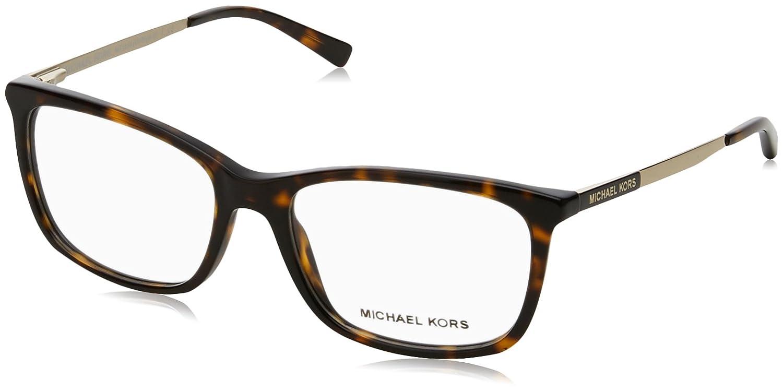 59cedab09a Michael Kors VIVIANNA II MK4030 Eyeglass Frames 3106-54 - Dk Tortoise gold  at Amazon Men s Clothing store