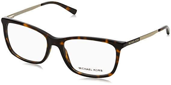 85764eff1c77 Michael Kors VIVIANNA II MK4030 Eyeglass Frames 3106-54 - Dk Tortoise gold  at Amazon Men s Clothing store