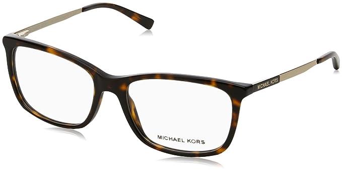 ef2217606d4b Michael Kors VIVIANNA II MK4030 Eyeglass Frames 3106-54 - Dk Tortoise gold