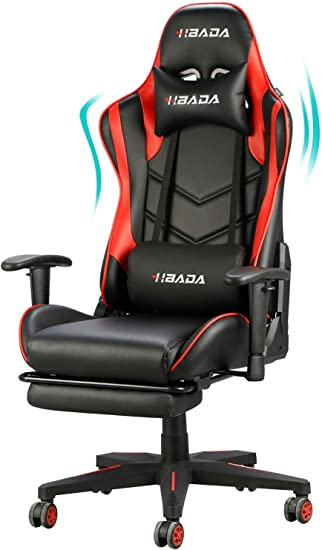 Amazon.com: Hbada Gaming Chair Racing Style Ergonomic High Back
