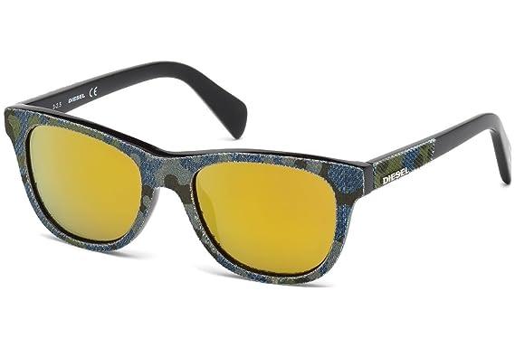 Gafas de sol Diesel DL0200 C48 98G (dark green/other / brown ...