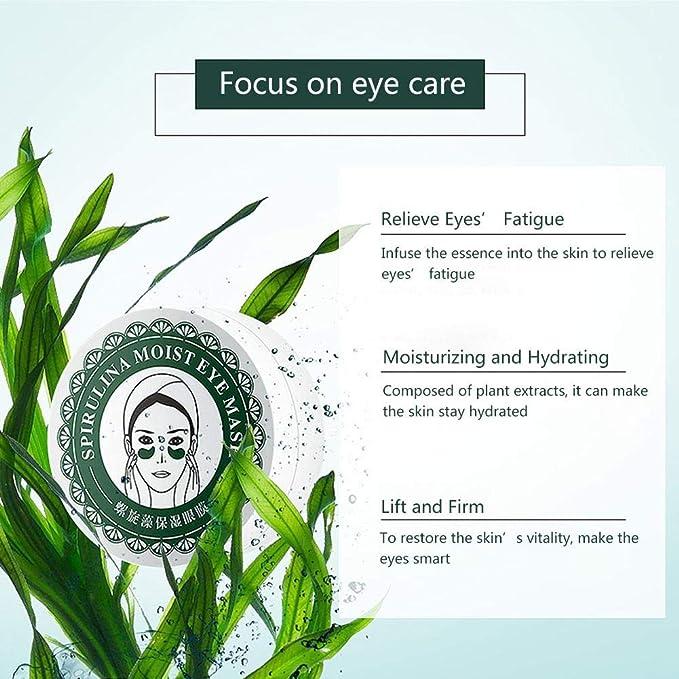 Blue-Yan Máscara Ocular antienvejecimiento, Tratamiento Debajo de Las Bolsas oculares, Reduce Arrugas e hinchazón, aclara los círculos Oscuros, ...