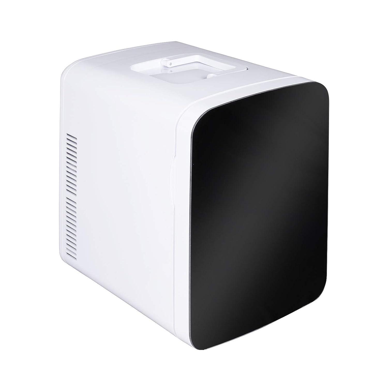 15L A+ WOLTU AC//DC Nevera Termoel/éctrica Port/átil Calor//Fr/ío Mini Refrigerador para Coche Navera para Viaje Camping Conexiones 12V/&220V Blanco KUE005wsz