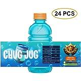 photograph relating to Chug Jug Printable identify : Ecorn Chug Jug Bottle Labels (16 Pack, Bottles