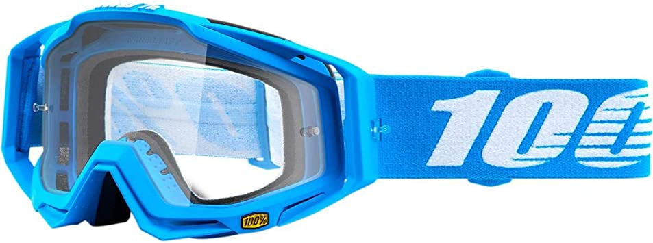 100/% Unisex-Adult Speedlab 50100-247-02 RACECRAFT Goggle GP21-Clear Clear Lens One Size