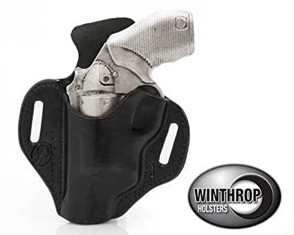 POLY FRAME Taurus Judge Public Defender OWB Shield Holster Left Hand Black  0636
