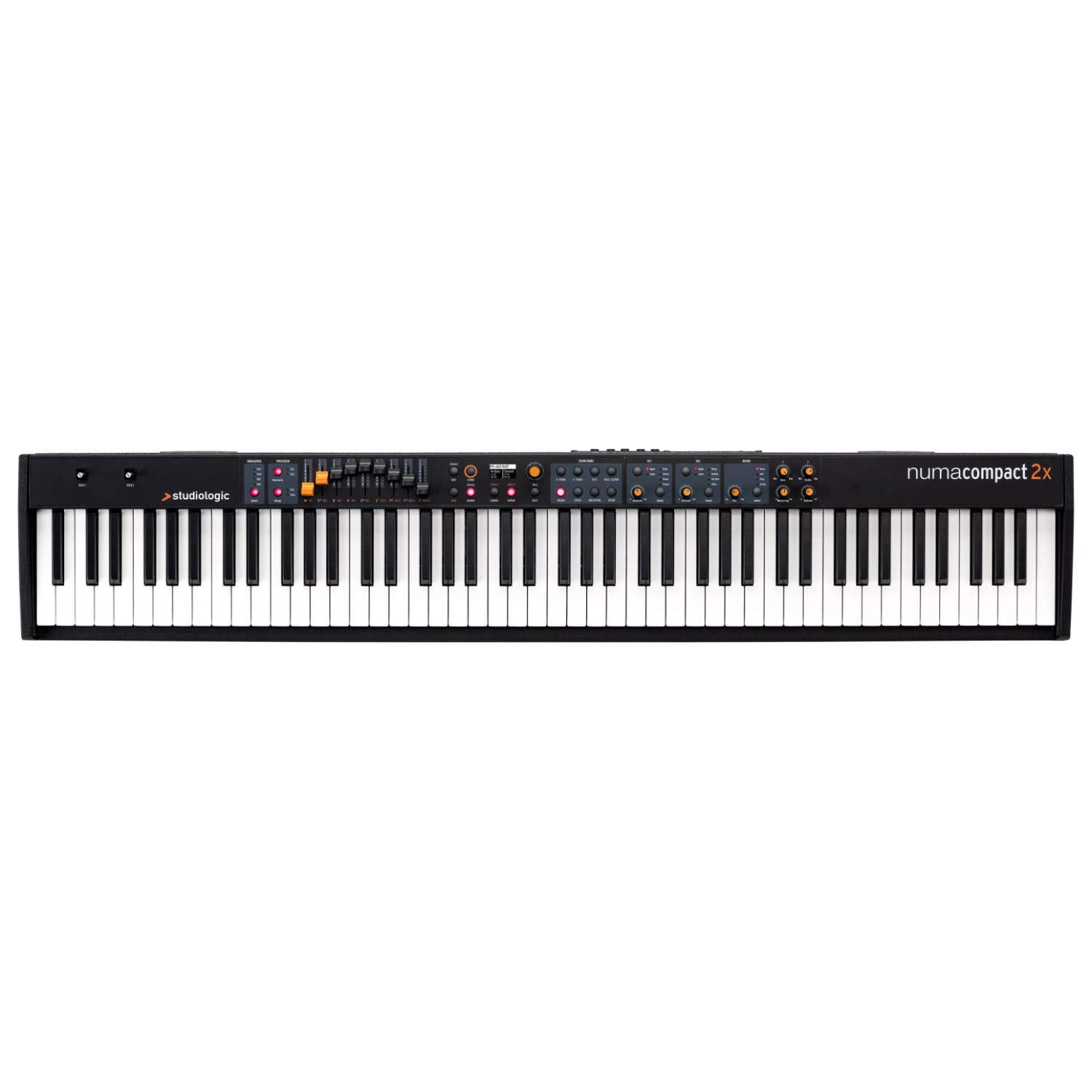 Studiologic Numa Compact 2X Portable Digital Piano (Numa-Compact-2X) by Studiologic