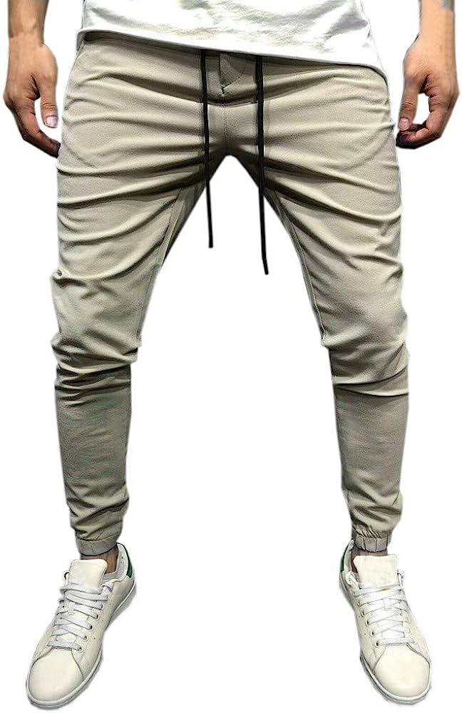 Pantalones Largos para Hombre, Hombres Casuales Ropa Deportiva ...