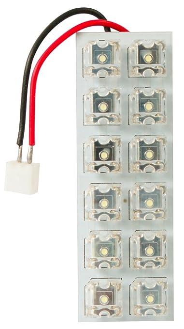 5 opinioni per Cora 000120745 Luce di Cortesia 12 LED, 60 x 20 mm, con 5 Attacchi Lampada