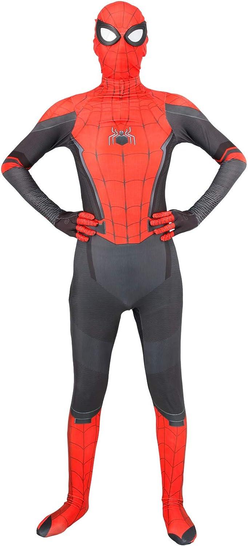 HEIPIDAY Spider Man Far from Home Costume, Halloween Cosplay Bodysuit