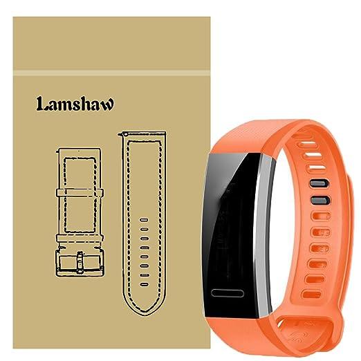 Ceston Silicone Classique Bracelet De Remplacement pour Huawei Band 2 Pro (Noir): Amazon.fr: High-tech