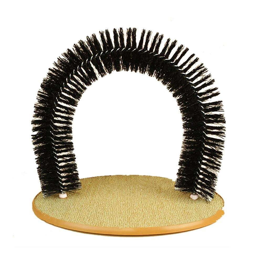 DAN Arch Groom Toy,Cat Arch Self-Groomer and Massager