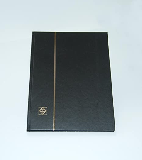 Black Lighthouse Hardcover Stamp Album Stockbook With 32 Black Pages LS4//16 by Lighthouse