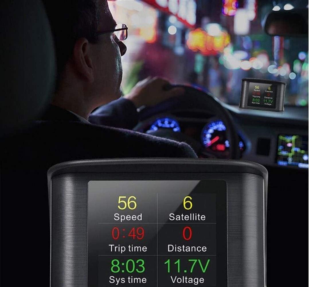 Color Name : GPS Speedometer T600 LLTT Computer Autogeschwindigkeitsprojektor Digitaler Tacho Anzeige Kraftstoffverbrauch Temperaturanzeige Diagnosewerkzeug