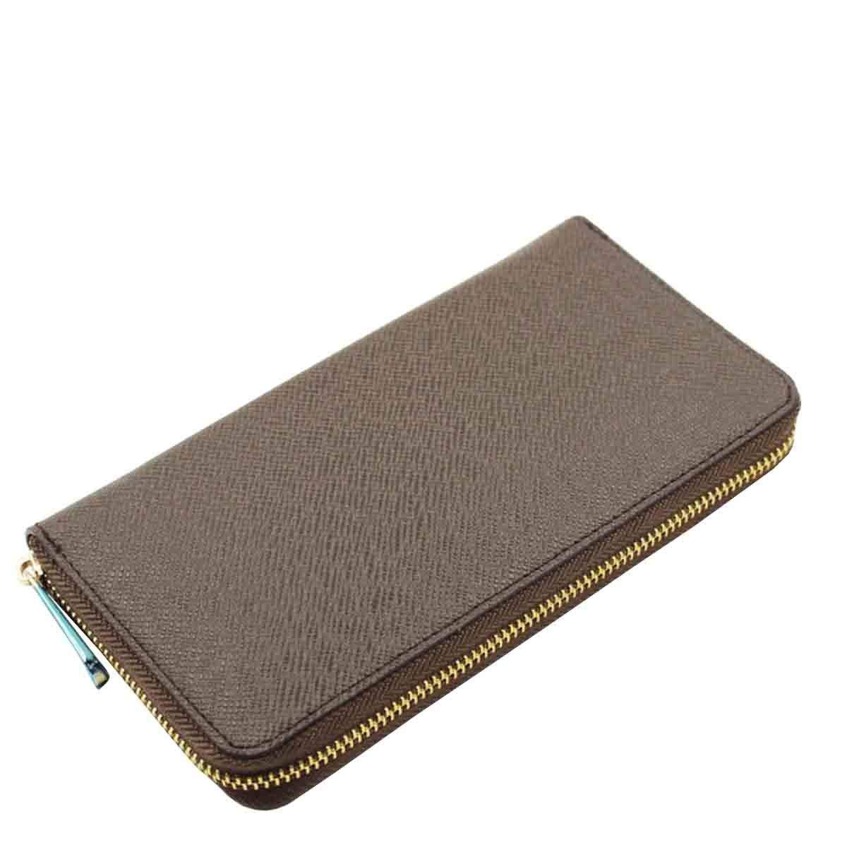 Beige Cross Women Large Capacity Leather Zipper Wallet Purse Wristlet Handbag with for Work (color   Beige, Size   One Size)