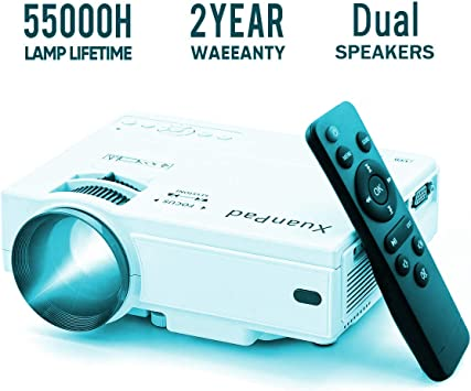 XuanPad Mini proyectores, proyector portátil de 2500 lúmenes ...