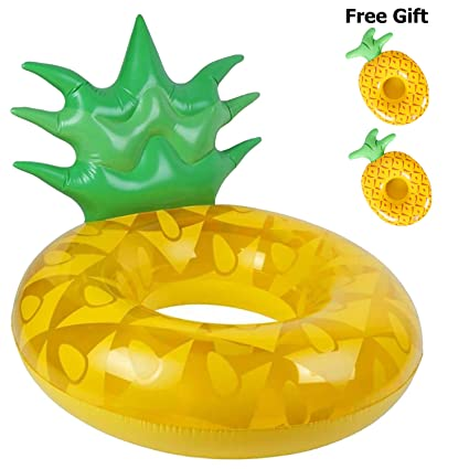 D.F.L Inflable piña Gigante Swim Ring - Swim Inflatable Ring ...