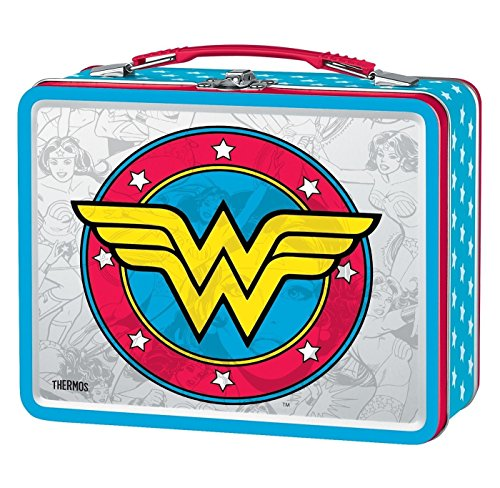 Thermos Wonder Woman Logo Tin Lunch ()