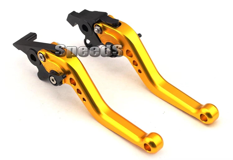 SPEEDS CNC Short Brake /& Clutch Levers For Suzuki GSX-R 600 750 1000 K1 K2 1996-2004