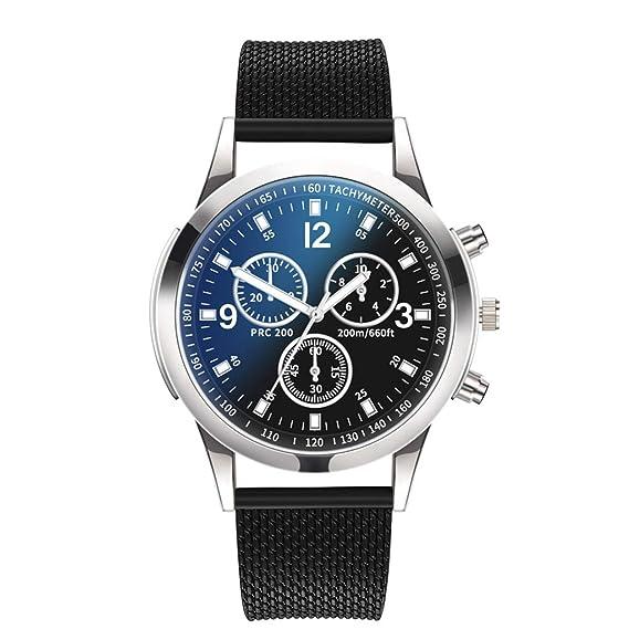 Relojes, Reloj de Cuarzo Dial de Acero Inoxidable Reloj de ...