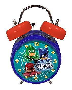 PJ MASK® Despertador analógico de campanas (a pilas)