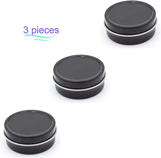 20 Pack 1//4 Oz Round Metal Tin Container for lip balm,crafts,storage,survival