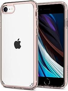 Spigen Ultra Hybrid [2nd Generation] Designed for Apple iPhone SE 2020 Case/Designed for iPhone 8 Case (2017) / Designed for iPhone 7 Case (2016) - Rose Crystal