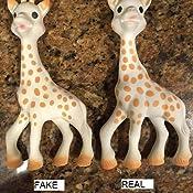 Amazon.com: La jirafa de Vulli Sophie, Caja marrón, 10 ...