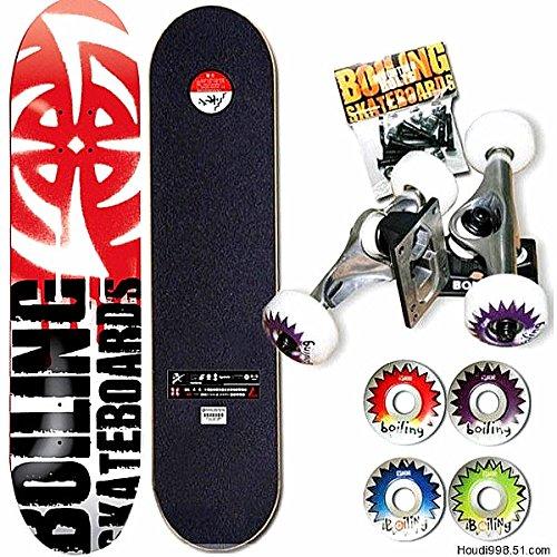 Bazaar BOILING Skateboard Senior 7 Layer Maple Wood Professional SkateBoard 79x20cm (Boiling Skateboard)
