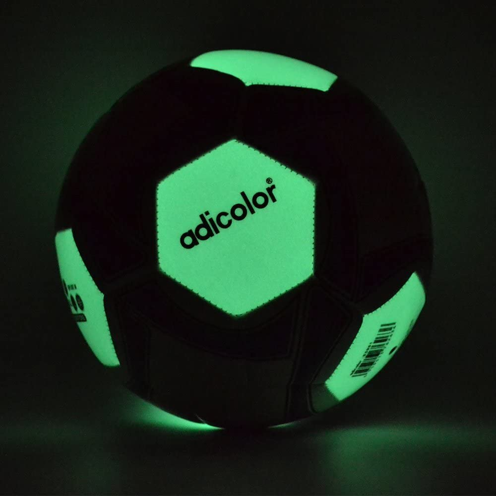 5 Adicolor luminoso Fútbol luz nocturna iluminación. Balón de ...