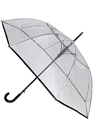 COLLAR AND CUFFS LONDON - Windproof 60MPH EXTRA STRONG - StormDefender Clear Canopy - 43in Diameter  sc 1 st  Amazon.com & Amazon.com: COLLAR AND CUFFS LONDON - Windproof 60MPH EXTRA STRONG ...