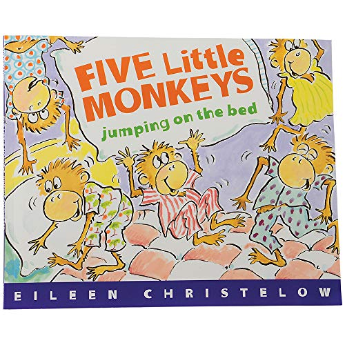 Five Little Monkeys Jumping On The Bed 32 pg. Softcover Book ()