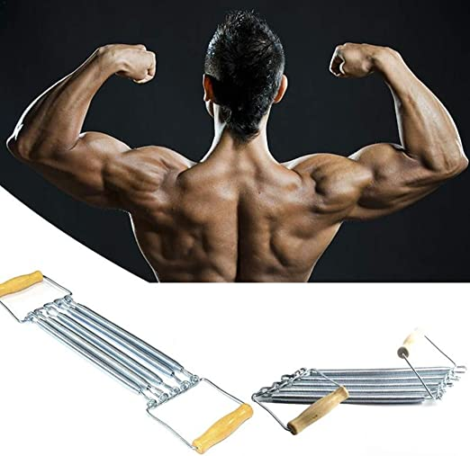 Verstellbarer Chest Brust  Expander Trainingsgerät Sport Fitness Widerstandsband
