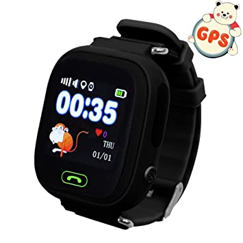 Niños reloj de pulsera, GPS, 9tong Childrens relojes teléfono inteligente con GPS GSM SIM