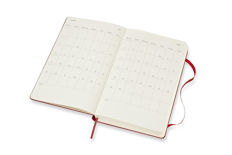 in Edizione Limitata Large Moleskine 2019 Agenda Settimanale Le Petit Prince 18 Mesi con Spazio per Note Pattern con Motivi Bianchi